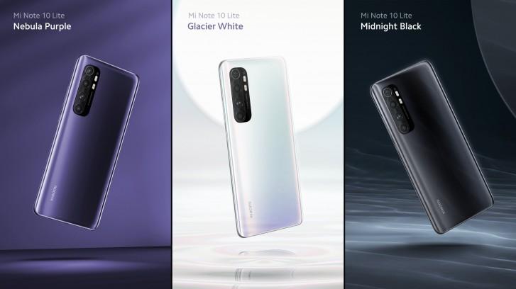 Xiaomi Mi Note 10 Lite – display AMOLED, baterie de 5260 mAh şi cameră foto cvadruplă