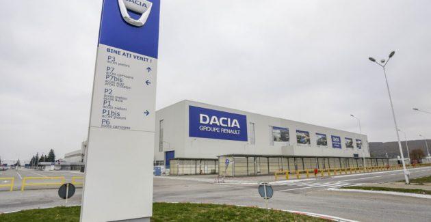 Dacia menţine închisă fabrica de la Mioveni pe o perioadă nedeterminată