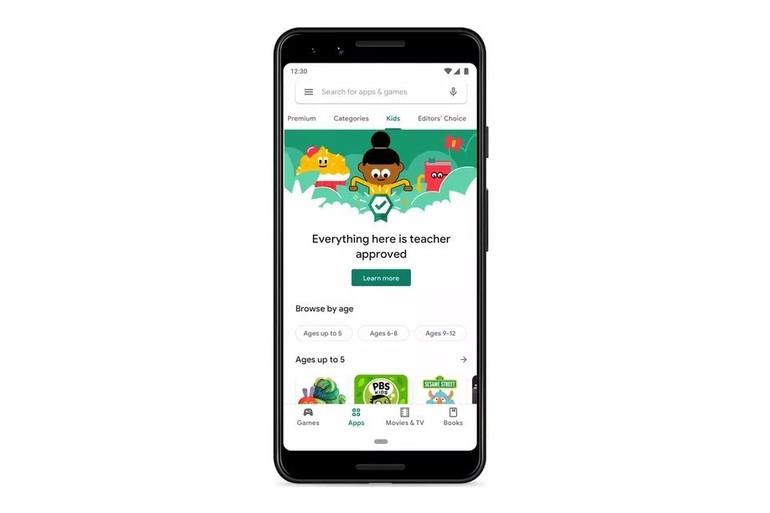În curând vom găsi în Google Play o secţiune dedicată special copiilor