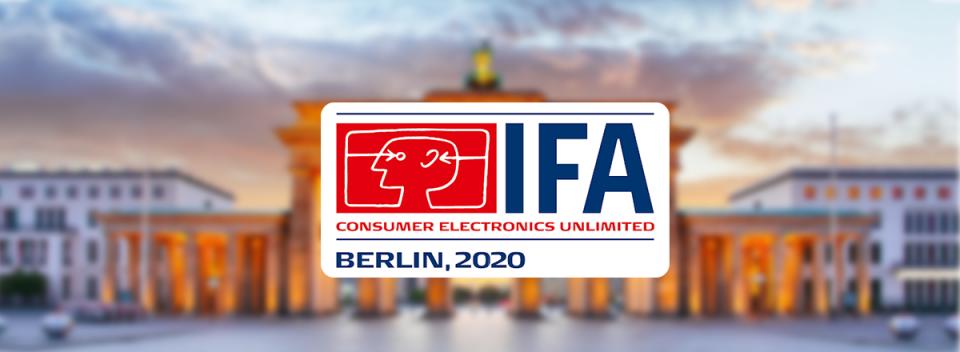 IFA Berlin 2020 se va desfășura exclusiv în online