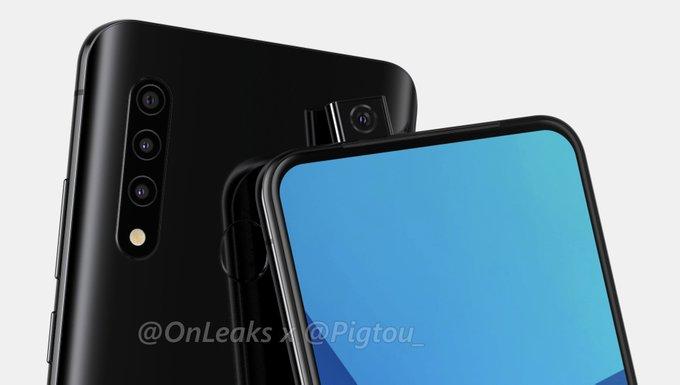 Samsung pregăteşte primul său smartphone cu cameră frontală tip pop-up