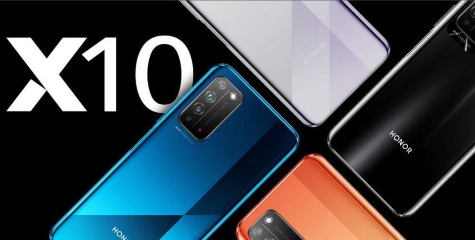 Honor X10 5G – display FullHD+ cu rată de refresh de 90Hz, conectivitate 5G şi preţ bun