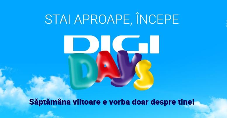 Digi Days – campanie promoţională cu reduceri de 50% destinată exclusiv abonaţilor