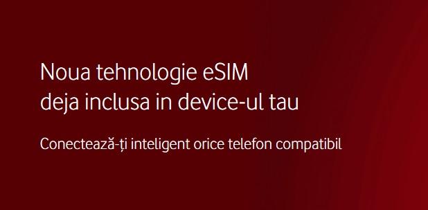 Vodafone anunţa lansarea tehnologiei eSIM în România