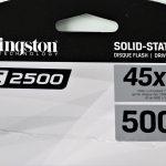 SSD Kingston KC2500 500 GB