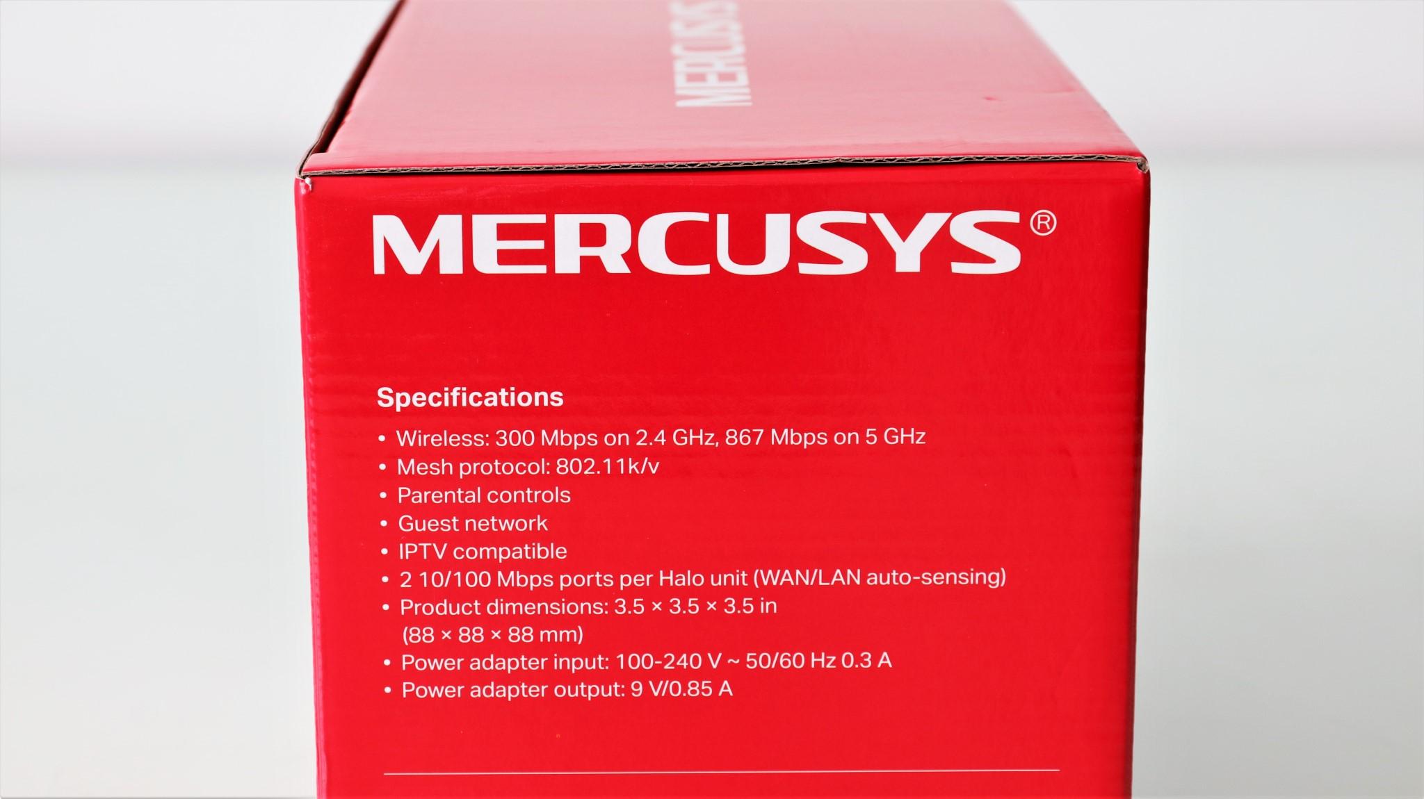 Sistem Wi-Fi mesh Mercusys Halo S12