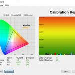 Test dupa calibrare ecran Acer Nitro 7 AN715-52