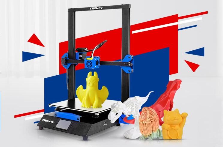 Imprimante 3D Tronxy la preţuri bune cu livrare din Europa