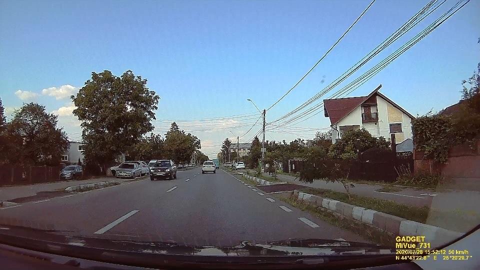 Calitatea imaginii camera auto DVR Mio MiVue 731
