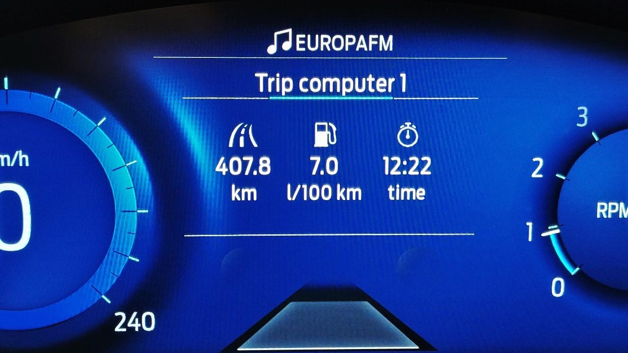 Consum mediu Ford Puma 2020 mHEV 1.0 EcoBoost 155 CP M6