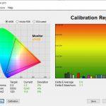 Test culori dupa calibrare Acer ConceptD 3 CN315-71