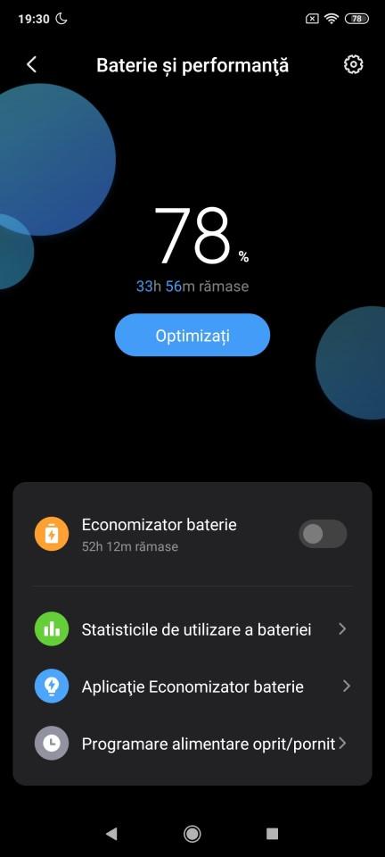 Autonomie Xiaomi Redmi Note 9 Pro