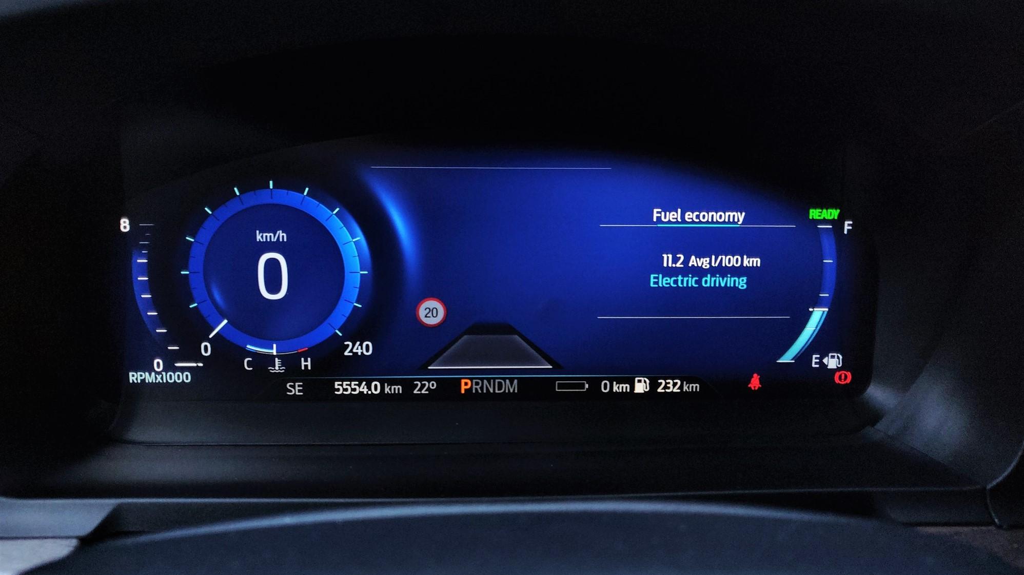 Consum Ford Explorer 2020