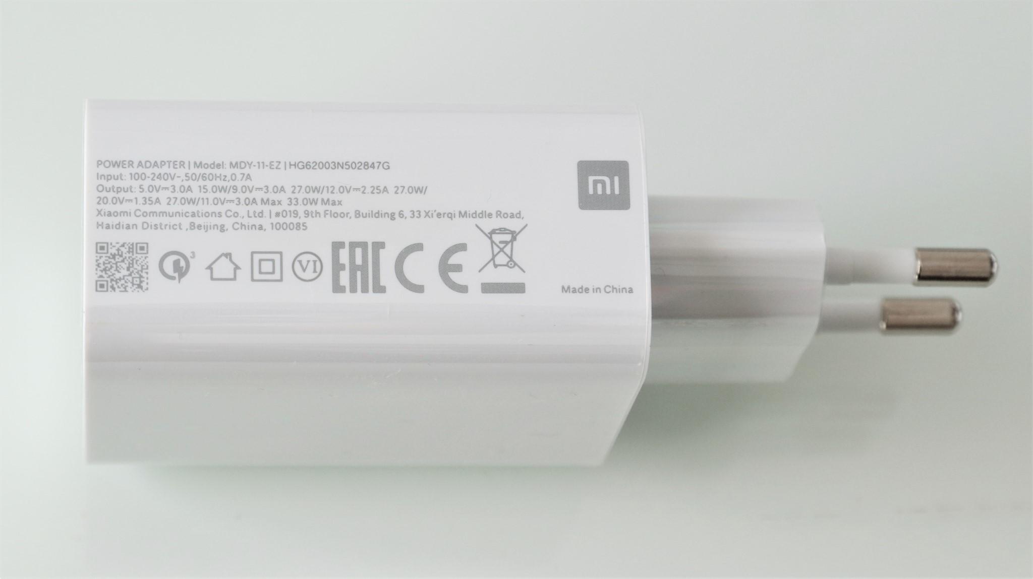 Incarcator Xiaomi Redmi Note 9 Pro