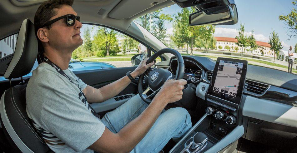 La volan in Renault Captur Plug-In Hybrid E-TECH