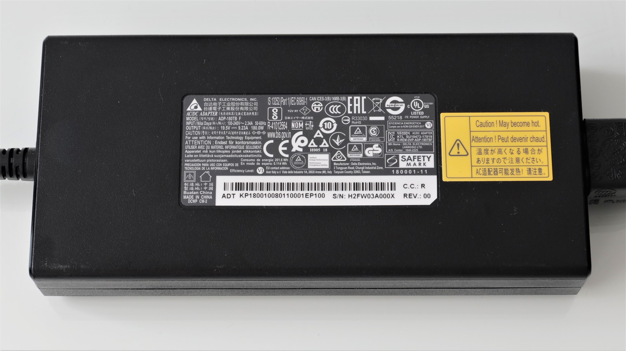 Incarcator Notebook de gaming Acer Nitro 5 AN515-55