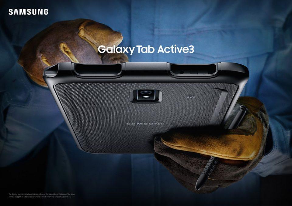 Samsung GALAXY Tab Active 3 sau ce specificații hardware încorporează o tabletă pentru lucru în depozit