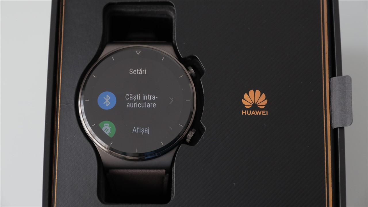 Interfata smartwatch Huawei Watch GT 2 Pro