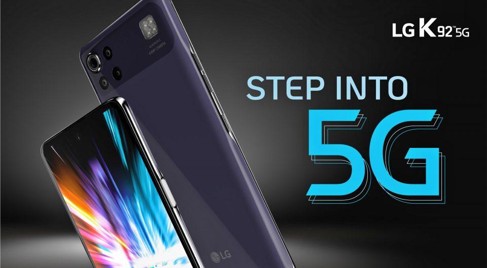 LG K92 5G – procesor Qualcomm Snapdragon 690, difuzoare stereo şi display de 6.7 inci