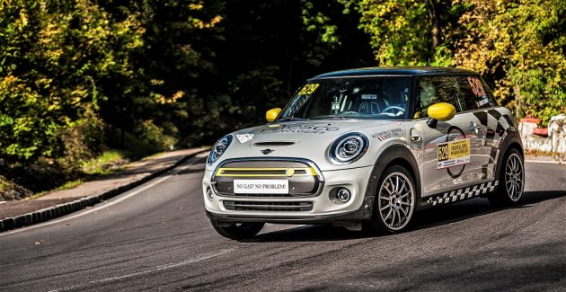MINI Cooper SE viteza in coasta
