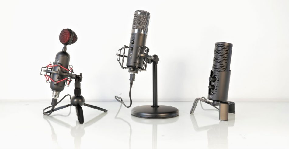 Microfoane Trust GXT 244 Buzz GXT 256 Exxo GXT 258 Fyru