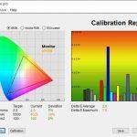 Test culori mod sRGB Acer ConceptD 3 CN315-72G