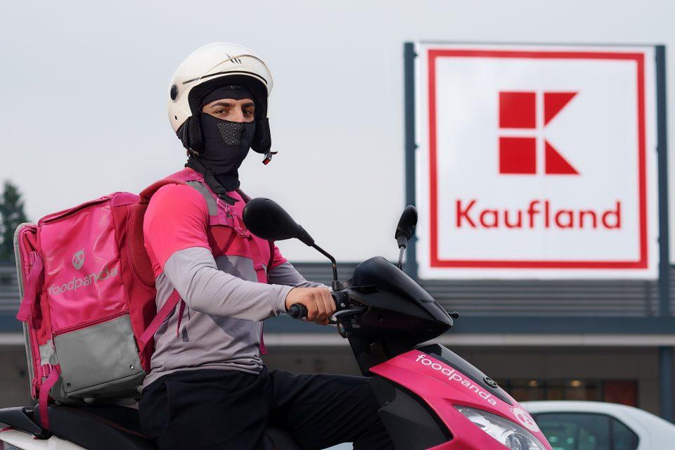 Foodpanda a anunţat un parteneriat cu Kaufland România