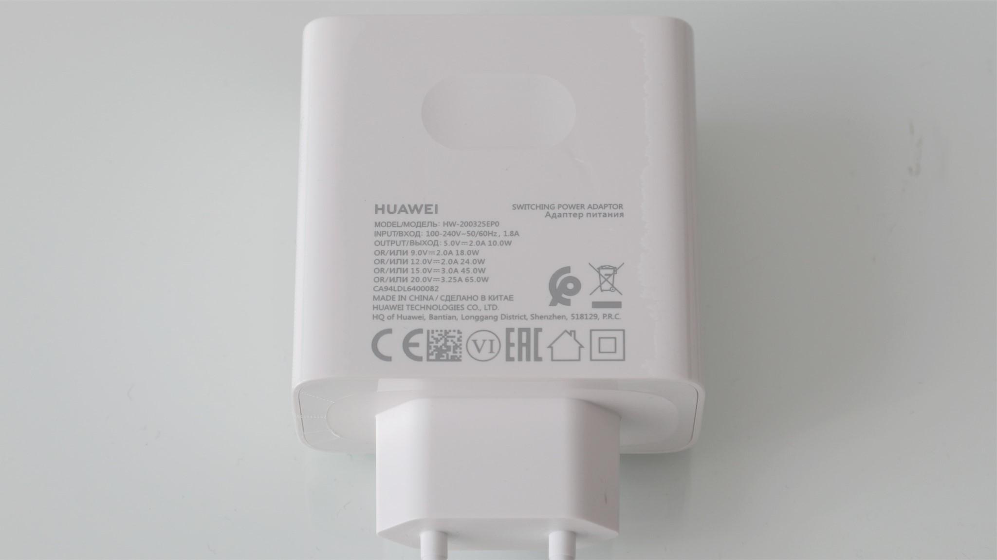 Incarcator Huawei MateBook X 2020