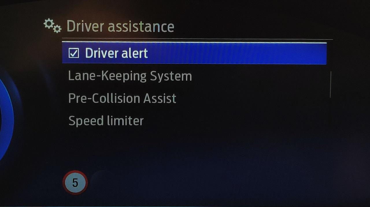 Sisteme asistenta Ford Puma ST 2020
