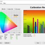 Test culori dupa calibrare televizor QLED Allview QL50ePlay6100-U