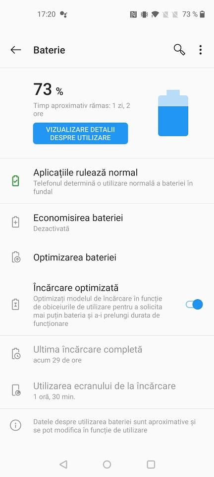 Autonomie OnePlus Nord N10 5G