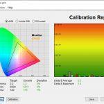 Test culori dupa calibrare ecran MSI GE66 Raider 10SGS
