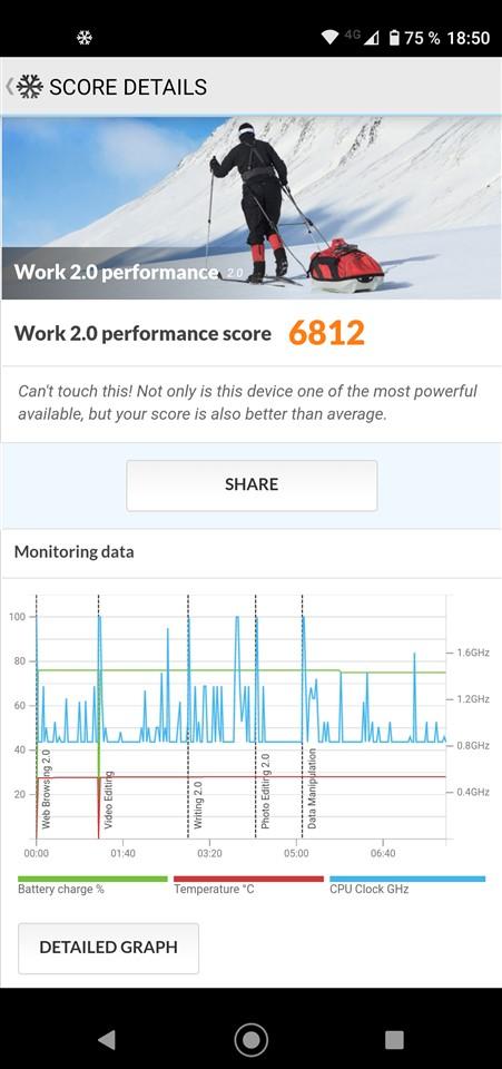Teste benchmark Motorola Moto G8 Power