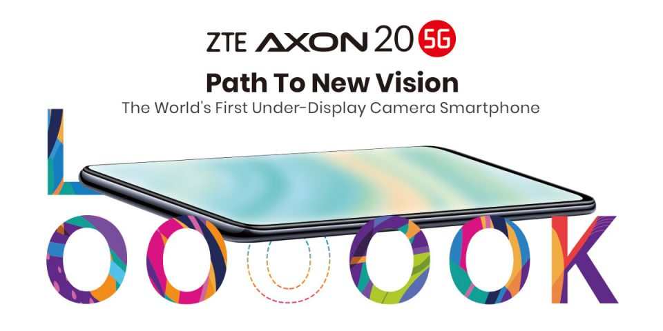 ZTE Axon 20 5G, primul smartphone din lume cu cameră selfie integrată sub display, ajunge în Europa din 21 decembrie