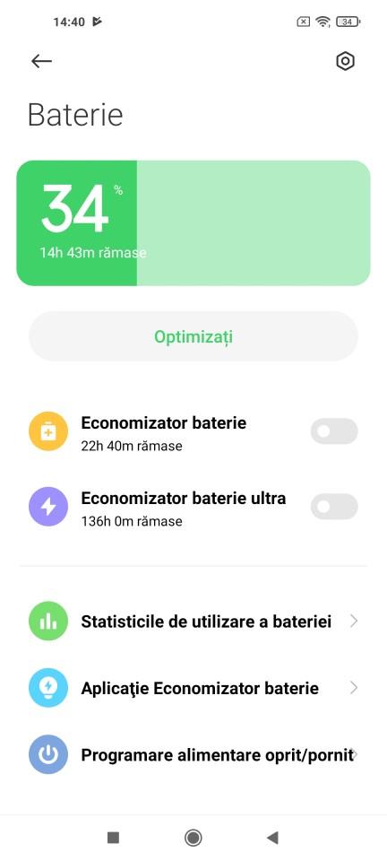 Autonomie Xiaomi Mi 10T Pro