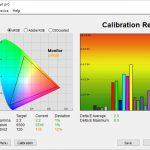 Test culori dupa calibrare TV LG OLED48CX6LB