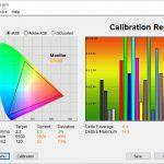 Test culori mod Filmmaker TV LG OLED48CX6LB