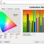 Test culori mod Standard TV LG OLED48CX6LB