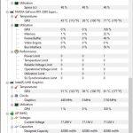 Temperaturi maxime GPU notebook Acer ConceptD 7 CN715-72G