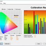 Test culori ecran mod EyeCare ASUS ROG Strix G713Q