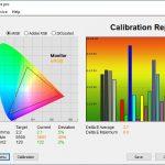 Test culori ecran mod FPS ASUS ROG Strix G713Q