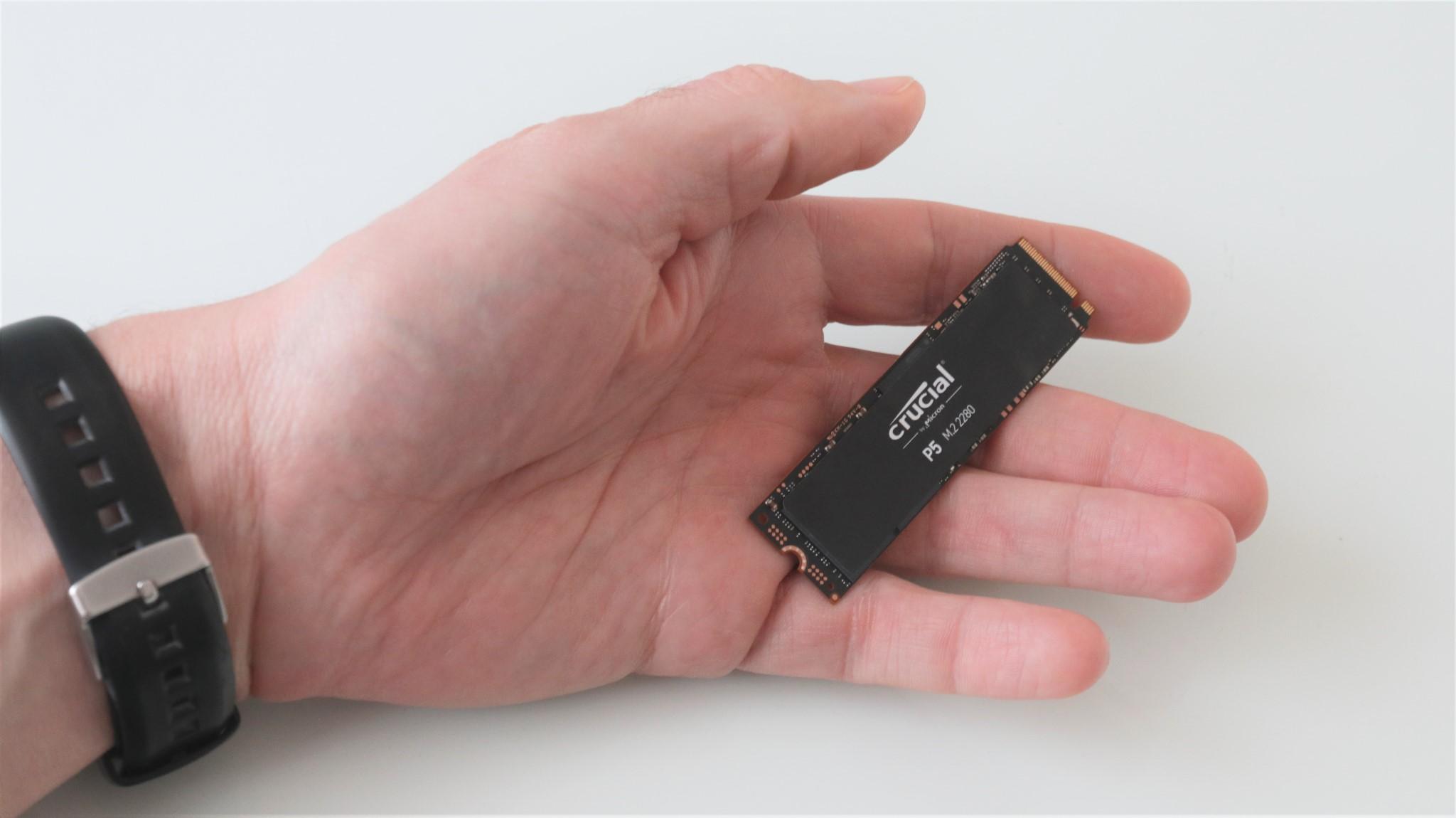 SSD Crucial P5 500 GB NVMe PCIe