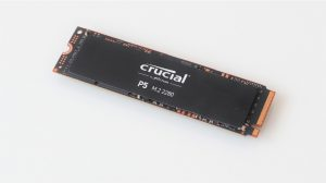 SSD Crucial P5 500 GB NVMe PCIe