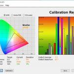 Test culori inainte calibrare ecran notebook Allview AllBook I