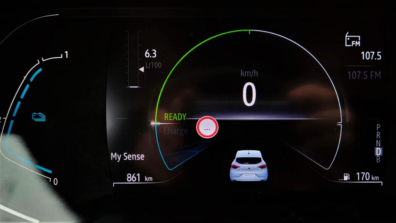 Consum Renault Clio E-TECH Hybrid