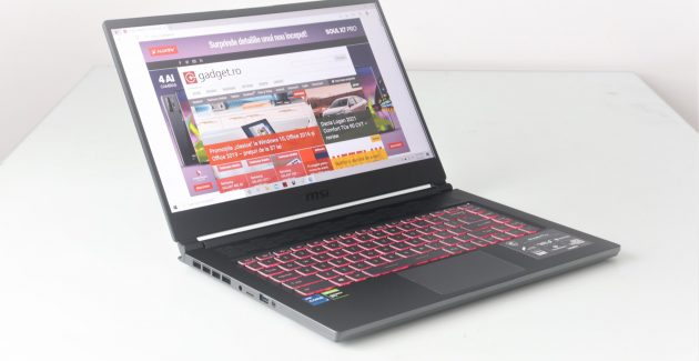 Notebook de gaming MSI Stealth 15M A11SDK