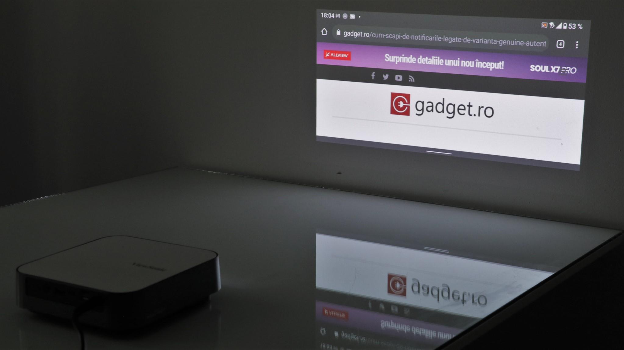 Proiector portabil smart ViewSonic M2e