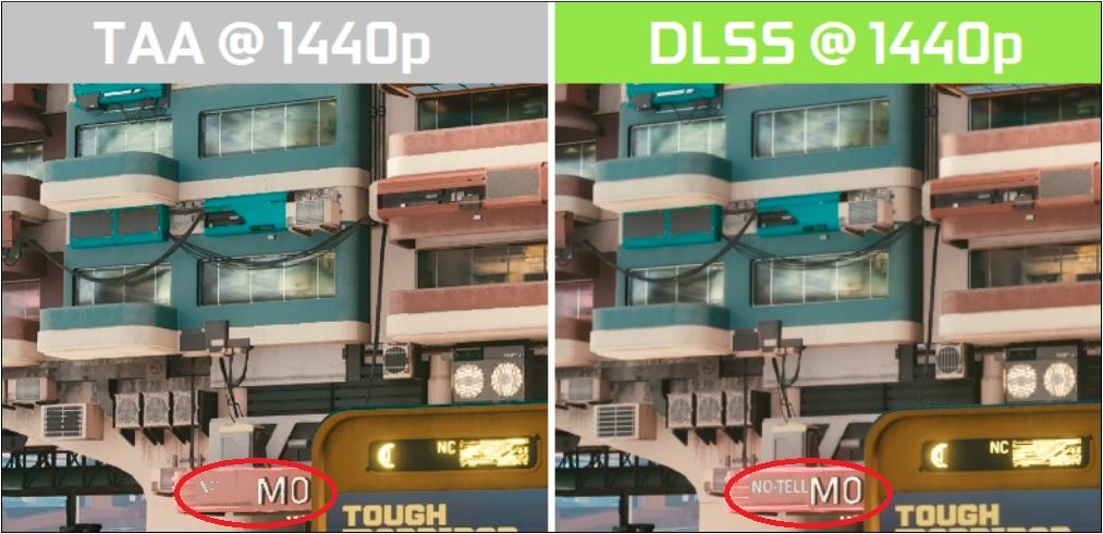 NVIDIA DLSS Off vs NVIDIA DLSS On