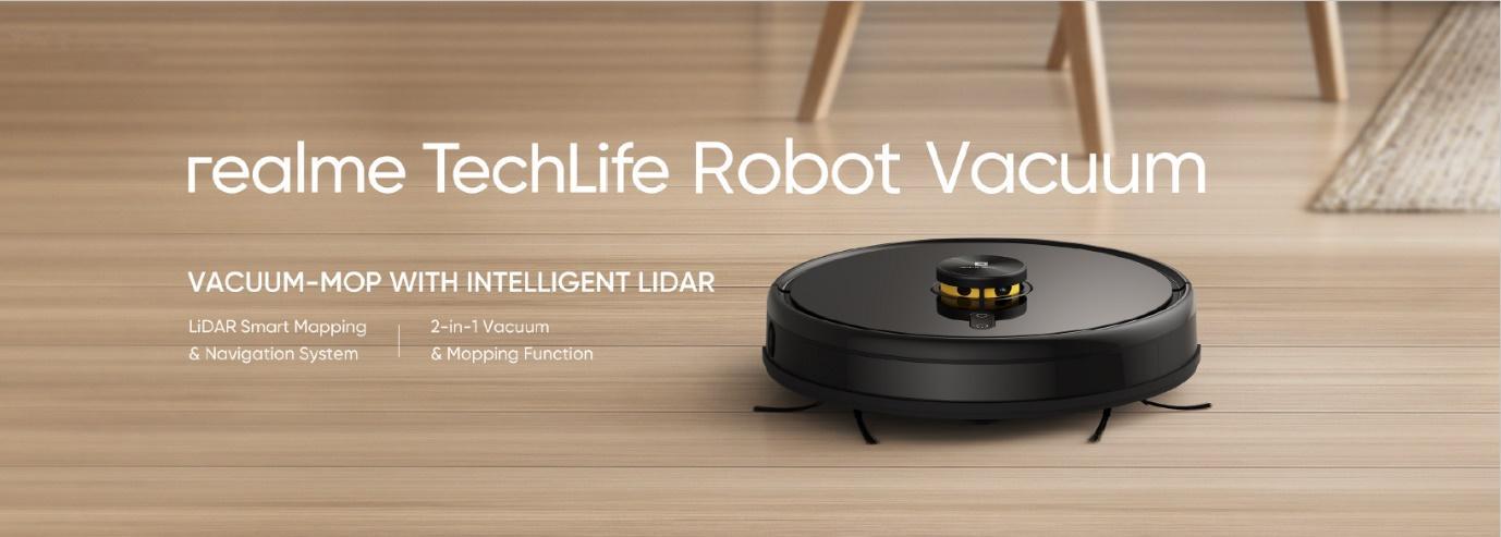 realme robot vacuum cleaner