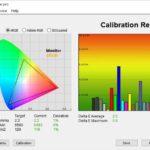 Test culori dupa calibrare televizor Allview 65ePlay7100-U